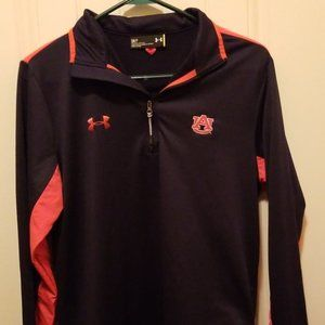 Under Armour Small - Half Zip Auburn Jacket/Pullov